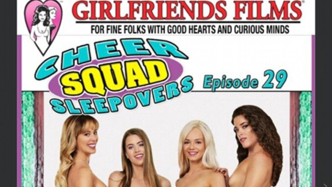Cherie DeVille Returns to Girlfriends in 'Cheer Squad Sleepovers 29'