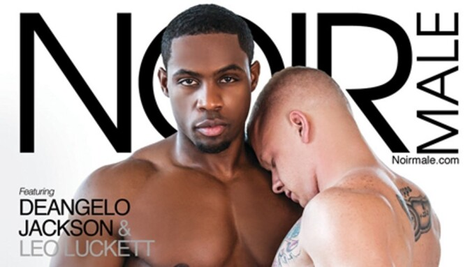 DeAngelo Jackson, Leo Luckett 'Straight to Black' for Noir Male