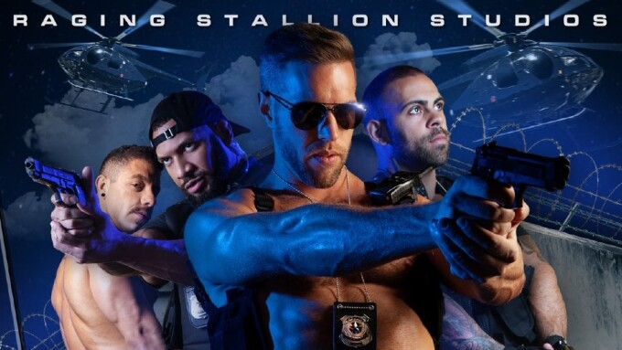 Raging Stallion Unleashes Action Sex Flick 'Bounty Hunters'