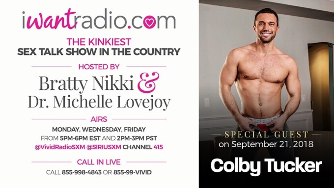 Newcomer Colby Tucker Guests on iWantRadio Today