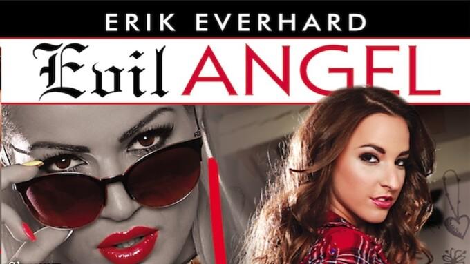 Erik Everhard Returns to Evil Angel With 'Anal Slut Diaries'