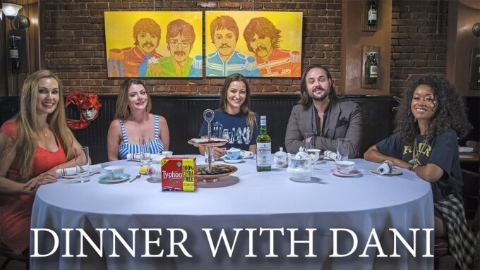 Dani Daniels' New 'Dinner With Dani' TV Show Now Available on Amazon