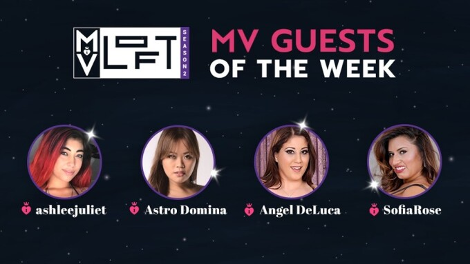 ManyVids Welcomes AshleeJuliet, Astro Domina, Angel DeLuca, SofiaRose to MV Loft