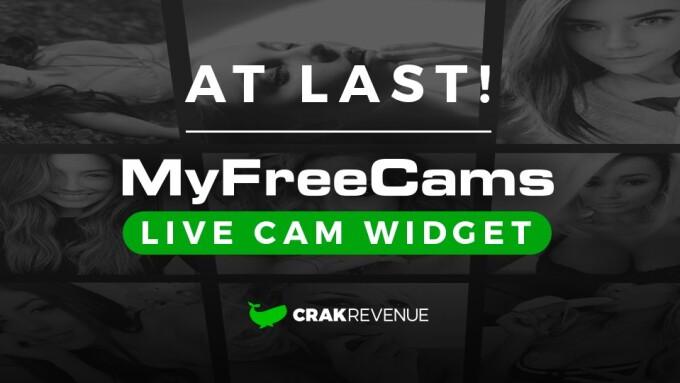 CrakRevenue Offers Live MyFreeCams Widget
