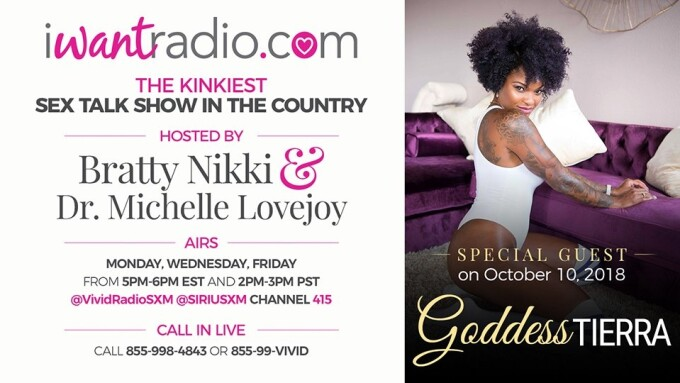 iWantRadio Welcomes 'Findom Specialist' Goddess Tierra Today