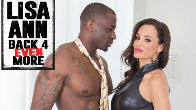 Lisa Ann Is 'Back 4 Even More' Anal for Evil Angel