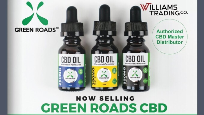 Williams Trading Co. Now Offering CBD Products From Green Roads