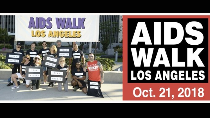 Jessica Drake Again Helps Raise Funds for AIDS Walk Los Angeles
