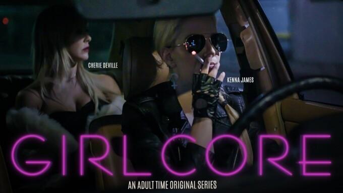 Cherie DeVille, Kenna James Anchor 'Girlcore' Erotic Anthology