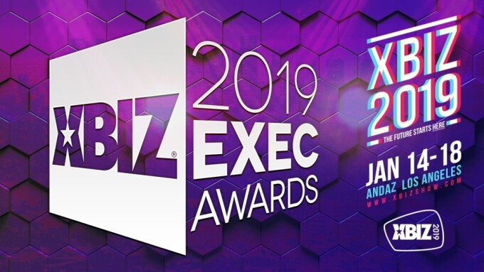 2019 XBIZ Exec Awards Online Industry Nominees Announced