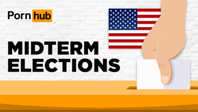 Pornhub Discloses Traffic Stats During Midterm Elections