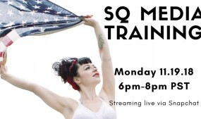 Siouxsie Q Offers Media Training Course Tonight on FanCentro