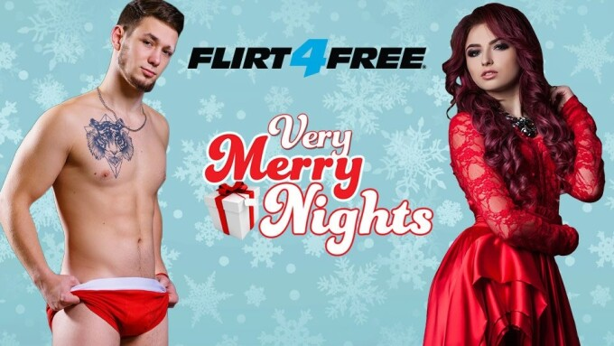 Flirt4Free Gets Into Holiday Spirit With 'Very Merry Nights Contest'