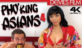 Marica Hase, Aubrey Ice Star in Devils Film's 'Pho'King Asians 4'