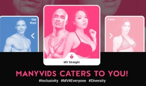 ManyVids Upgrades Platform With New 'Inclusivity' Popup Feature