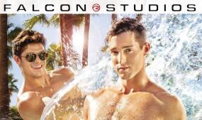 Steven Lee, Devin Franco 'Get Wet' for Falcon Studios