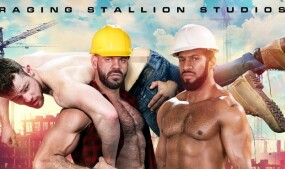 Raging Stallion Rolls Out Blue Collar Men in 'Raw Construction'