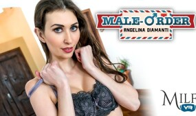 Angelina Diamanti Featured in MILF VR's 'Male-Order'