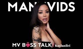 Kaylani Lei in Newest ManyVids' 'MV Boss Talk'