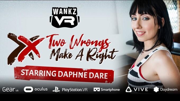 Daphne Dare Gets Revenge in WankzVR's Newest Scene