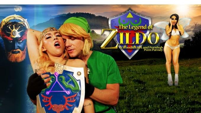 WoodRocket Premieres 'Legend of Zildo' Parody Today