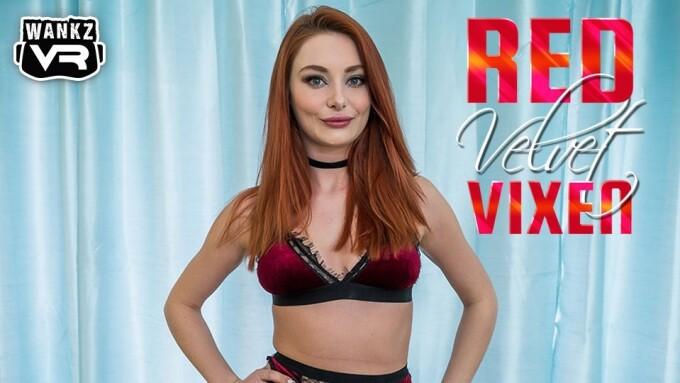 Lacy Lennon Makes WankzVR Debut in 'Red Velvet Vixen'