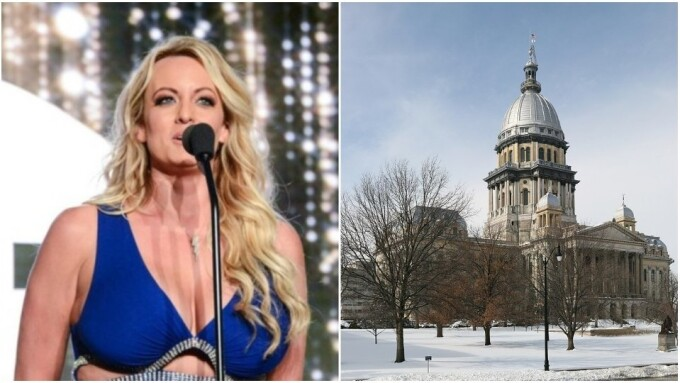 Stormy Daniels, Exotic Dancers to Protest at Illinois State Capitol
