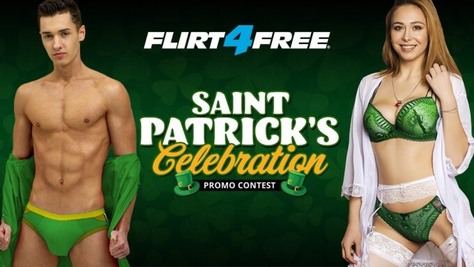 Flirt4Free St. Patrick's Day Promo Puts $20K in Play