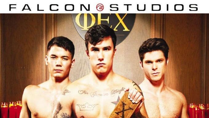 Falcon Studios Streets Erotic Fraternity Drama 'The Pledge'