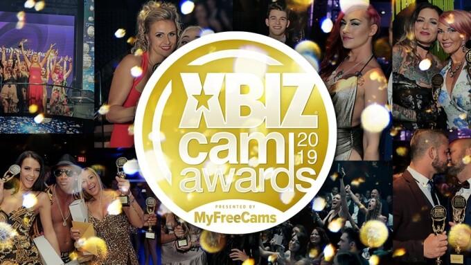 XBIZ Cam Awards Pre-Noms End Tomorrow