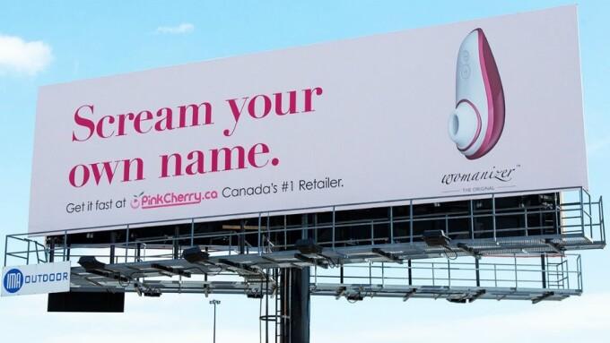 AdWeek Lauds Womanizer Billboard