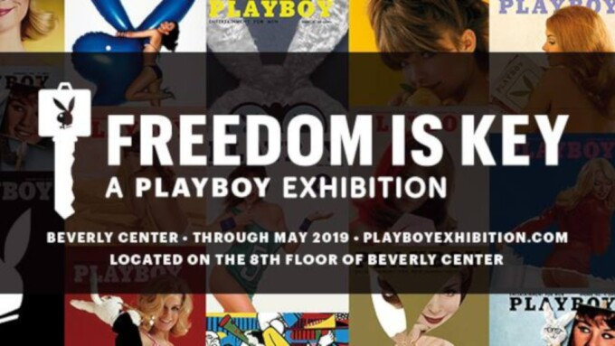 'Freedom Is Key: A Playboy Exhibition' Opens in Los Angeles