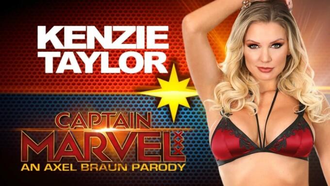 Axel Braun Casts Kenzie Taylor as 'Captain Marvel' Lead