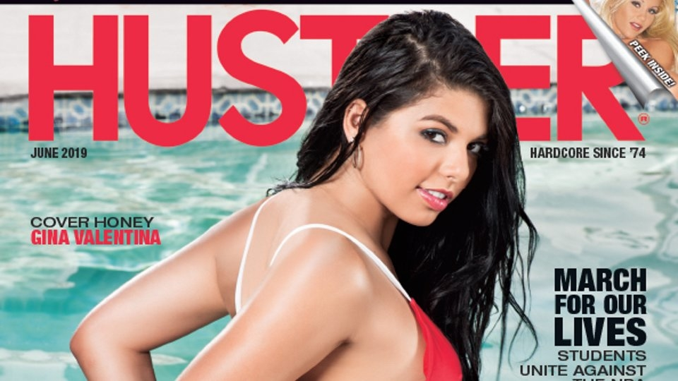 Gina Valentina, Cherie DeVille Featured in June Issue of Hustler