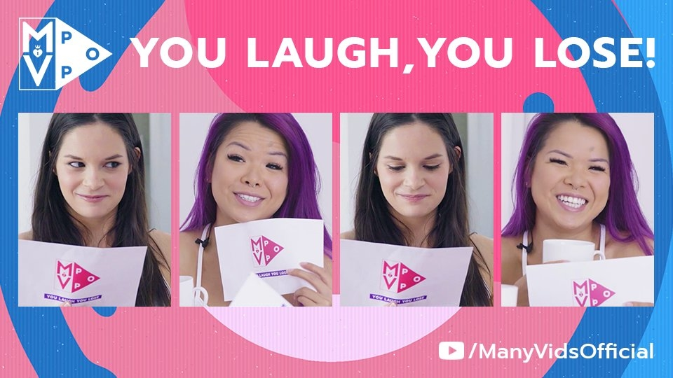 Jenna J Ross, VixenVu Play MV Pop's 'You Laugh, You Lose'