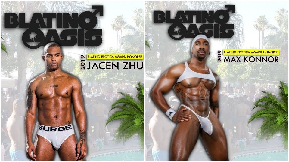 Blatino Erotica Awards Crown Max Konnor, Jacen Zhu