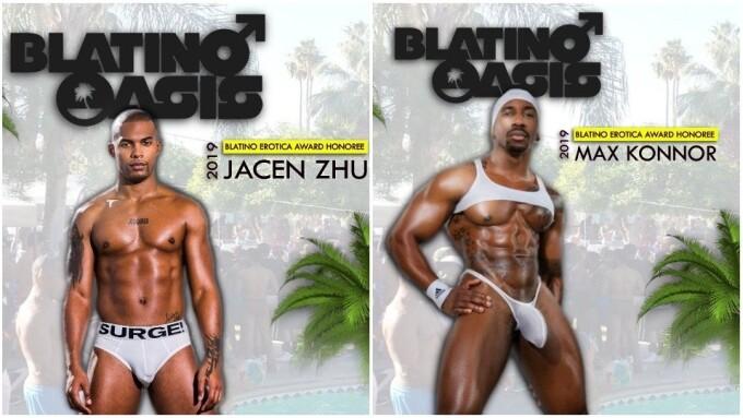 Blatino Erotica Awards Crown Max Konnor, Jacen Zhu