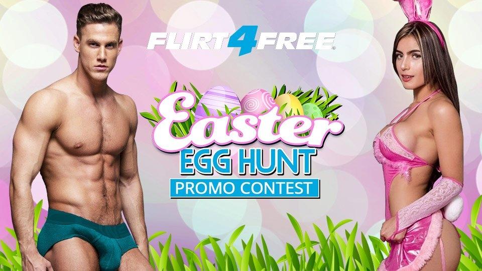 Flirt4Free Announces $20K Easter Egg Hunt