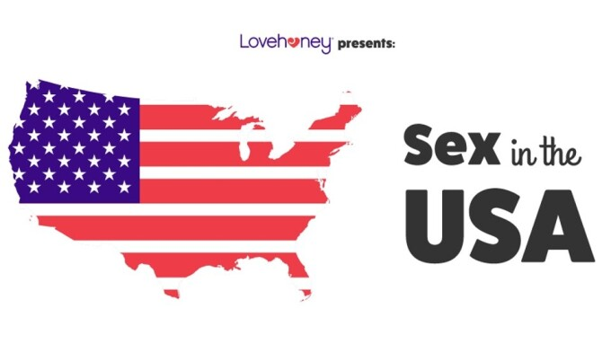 Lovehoney Reveals Sexiest U.S. Cities With New Sex Map