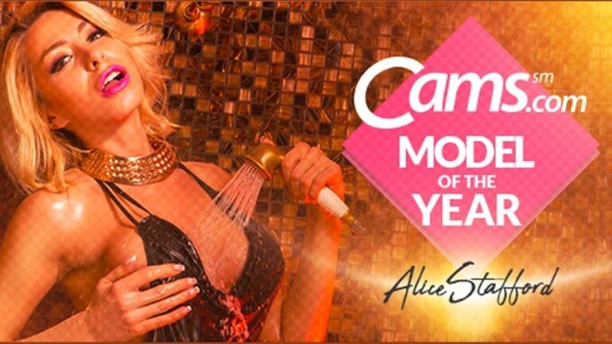 Cams.com Crowns AliceStafford 'Model of the Year'