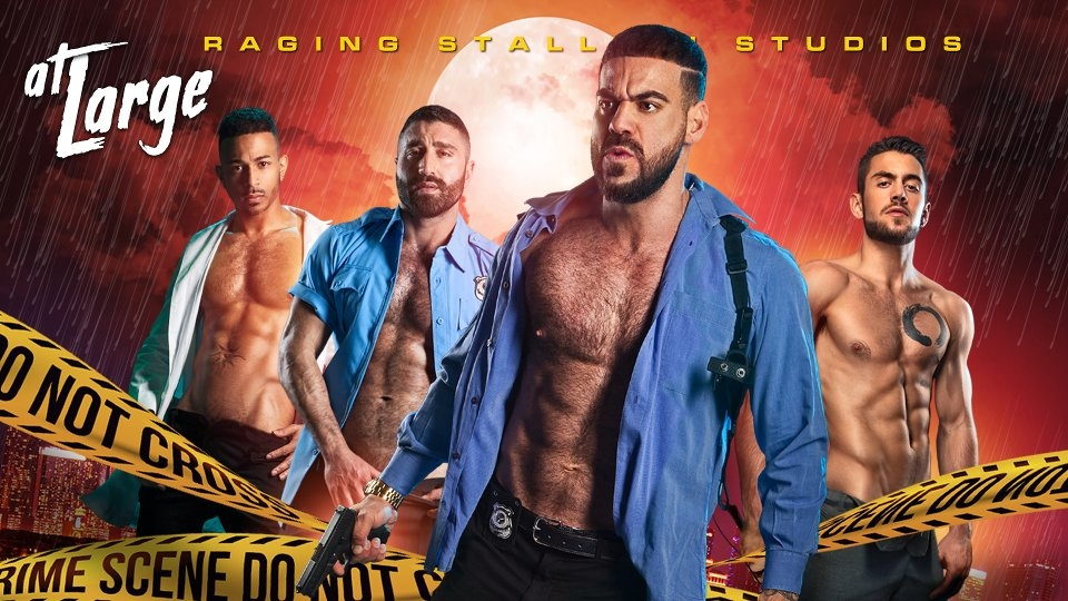 Raging Stallion Releases Teaser Site for Crime Thriller 'At Large'