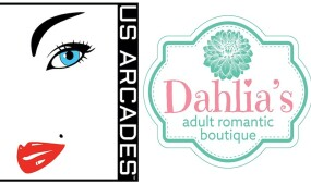 US Arcades Teams Up with Dahlia's Adult Romantic Boutique