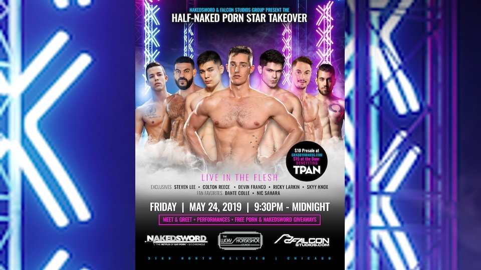 Falcon Studios, Grabby Awards to Stage 'Half-Naked' Benefit Show