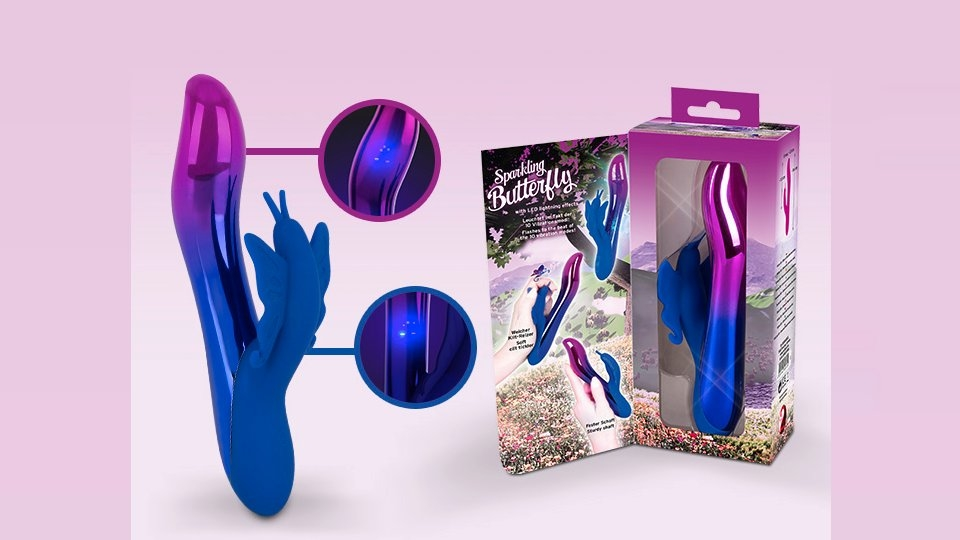 Orion Rolls Out You2Toys' Sparkling Butterfly Vibe