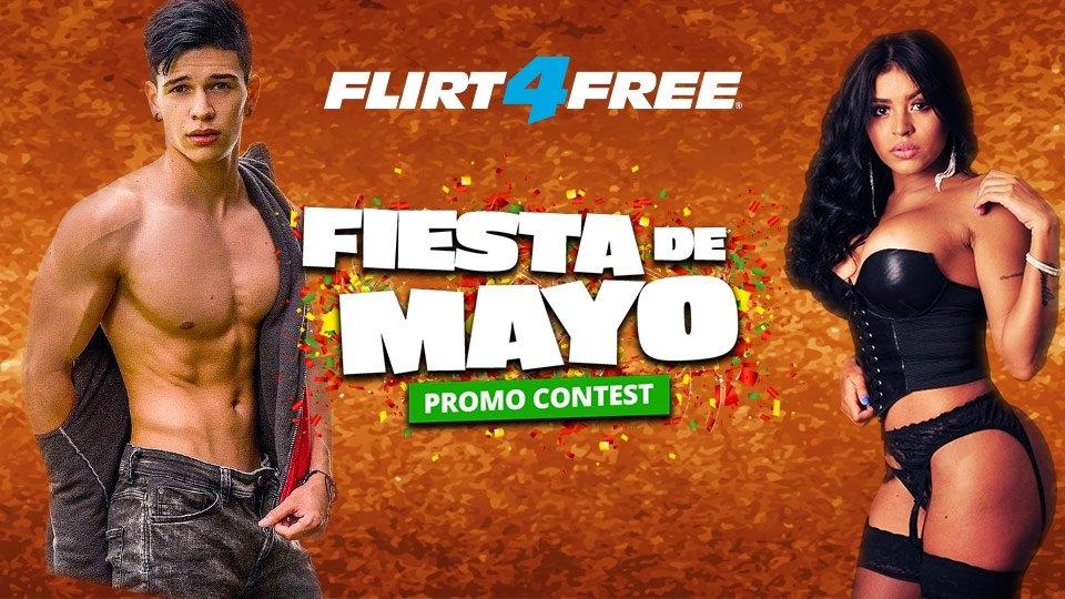 Flirt4Free Hosts 'Fiesta de Mayo' Celebration