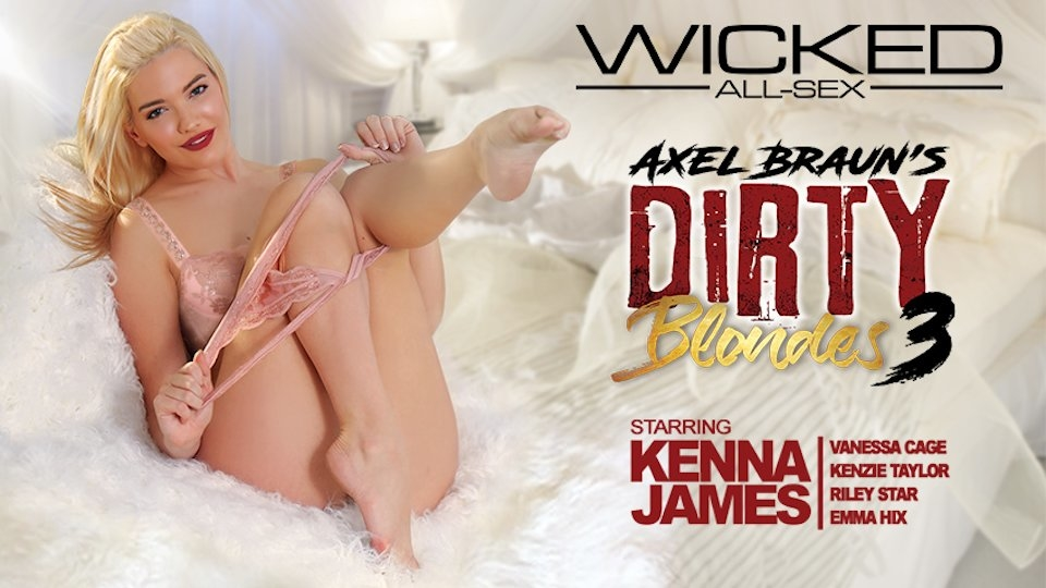 Kenna James Stuns in Wicked's 'Axel Braun's Dirty Blondes 3'
