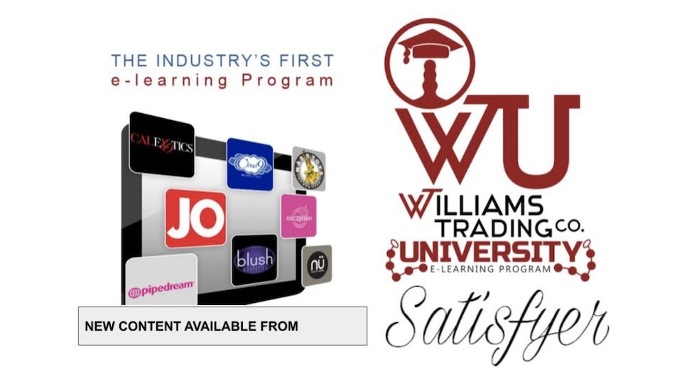 Williams Trading University Offers 2 New Satisfyer Certification Courses