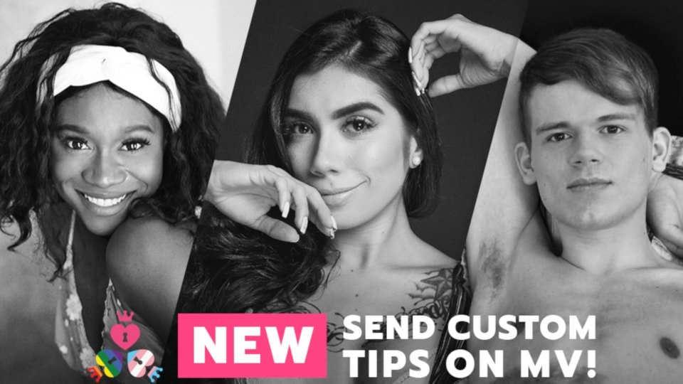ManyVids Announces Custom Tipping Feature