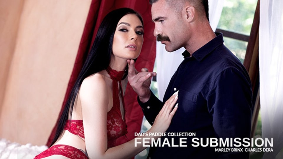 Marley Brinx Is Into 'Dad's Paddle Collection' for Pure Taboo