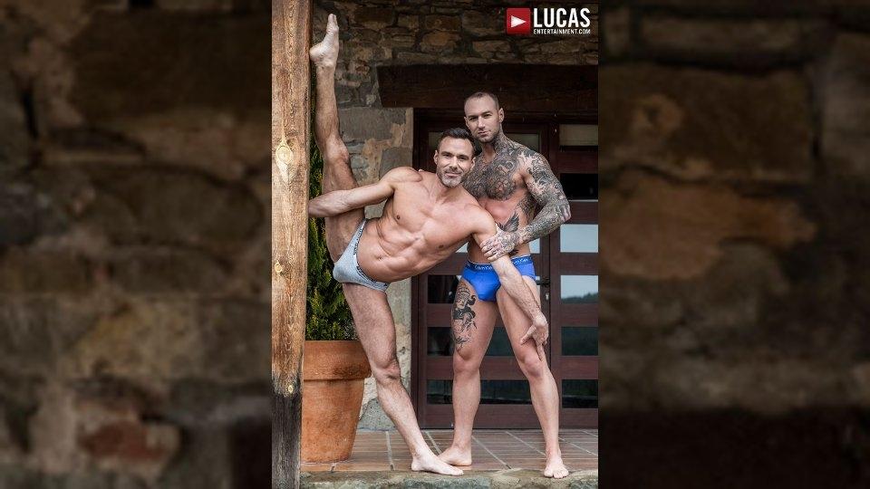 Manuel Skye, Dylan James Enjoy Acrobatic Hookup for Lucas